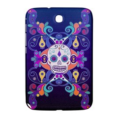 Día De Los Muertos Skull Ornaments Multicolored Samsung Galaxy Note 8 0 N5100 Hardshell Case