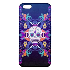 Día De Los Muertos Skull Ornaments Multicolored Iphone 6 Plus/6s Plus Tpu Case