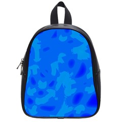 Simple blue School Bags (Small)