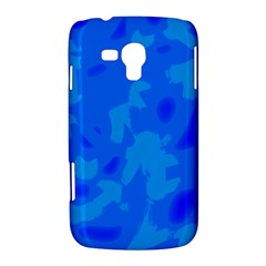 Simple blue Samsung Galaxy Duos I8262 Hardshell Case