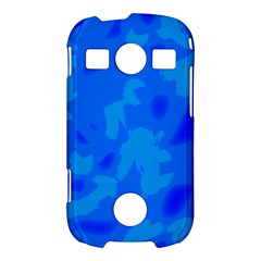 Simple blue Samsung Galaxy S7710 Xcover 2 Hardshell Case
