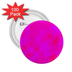 Simple pink 2.25  Buttons (100 pack)