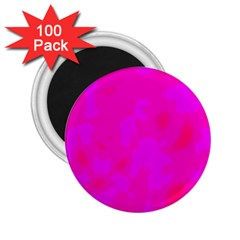 Simple pink 2.25  Magnets (100 pack)