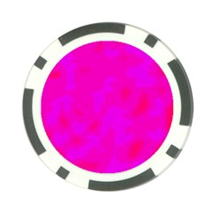 Simple Pink Poker Chip Card Guards (10 Pack)