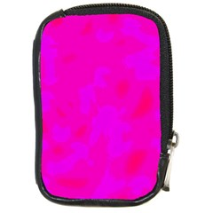 Simple pink Compact Camera Cases
