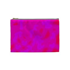 Simple pink Cosmetic Bag (Medium)
