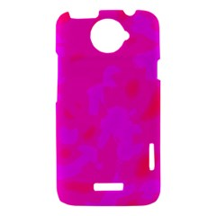 Simple pink HTC One X Hardshell Case