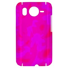 Simple pink HTC Desire HD Hardshell Case