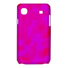 Simple pink Samsung Galaxy SL i9003 Hardshell Case