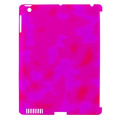 Simple pink Apple iPad 3/4 Hardshell Case (Compatible with Smart Cover)