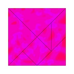 Simple pink Acrylic Tangram Puzzle (6  x 6 )
