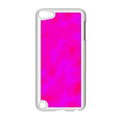 Simple pink Apple iPod Touch 5 Case (White)