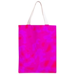 Simple pink Classic Light Tote Bag