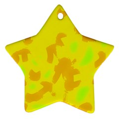 Simple yellow Ornament (Star)