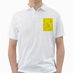 Simple yellow Golf Shirts