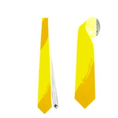 Simple yellow Neckties (One Side)
