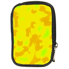 Simple yellow Compact Camera Cases