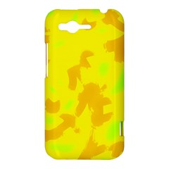 Simple yellow HTC Rhyme