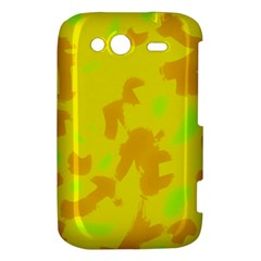 Simple yellow HTC Wildfire S A510e Hardshell Case