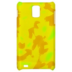 Simple yellow Samsung Infuse 4G Hardshell Case
