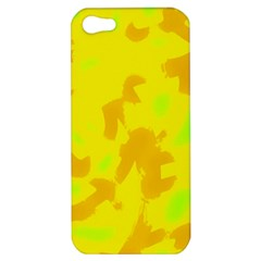 Simple yellow Apple iPhone 5 Hardshell Case