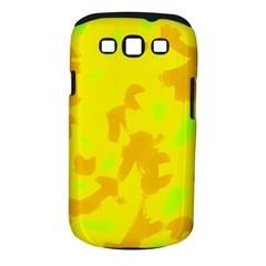 Simple yellow Samsung Galaxy S III Classic Hardshell Case (PC+Silicone)