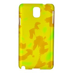 Simple yellow Samsung Galaxy Note 3 N9005 Hardshell Case