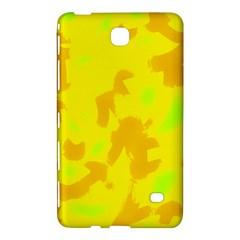 Simple yellow Samsung Galaxy Tab 4 (7 ) Hardshell Case