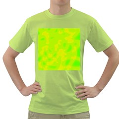 Simple yellow and green Green T-Shirt