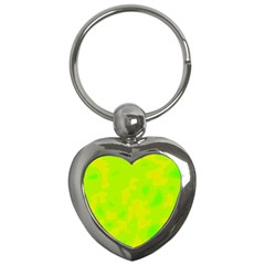 Simple yellow and green Key Chains (Heart)