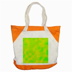 Simple yellow and green Accent Tote Bag