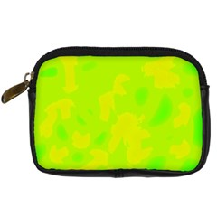 Simple yellow and green Digital Camera Cases