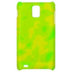 Simple yellow and green Samsung Infuse 4G Hardshell Case