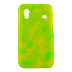Simple yellow and green Samsung Galaxy Ace S5830 Hardshell Case