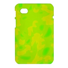 Simple yellow and green Samsung Galaxy Tab 7  P1000 Hardshell Case