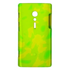 Simple yellow and green Sony Xperia ion