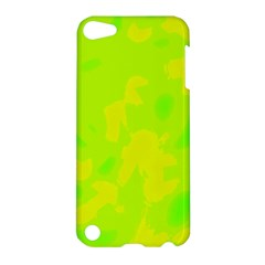 Simple yellow and green Apple iPod Touch 5 Hardshell Case