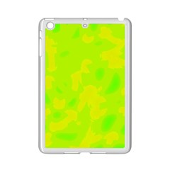 Simple yellow and green iPad Mini 2 Enamel Coated Cases