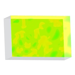 Simple yellow and green 4 x 6  Acrylic Photo Blocks