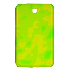 Simple yellow and green Samsung Galaxy Tab 3 (7 ) P3200 Hardshell Case