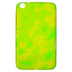 Simple yellow and green Samsung Galaxy Tab 3 (8 ) T3100 Hardshell Case