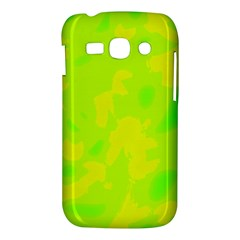 Simple yellow and green Samsung Galaxy Ace 3 S7272 Hardshell Case