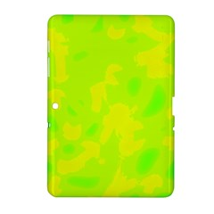 Simple yellow and green Samsung Galaxy Tab 2 (10.1 ) P5100 Hardshell Case