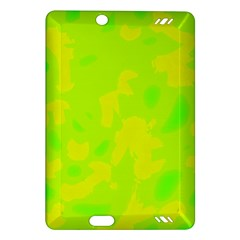 Simple yellow and green Amazon Kindle Fire HD (2013) Hardshell Case