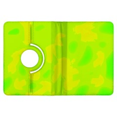 Simple yellow and green Kindle Fire HDX Flip 360 Case
