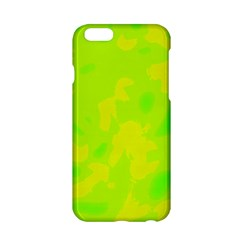 Simple Yellow And Green Apple Iphone 6/6s Hardshell Case
