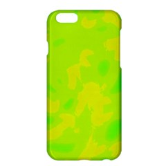 Simple yellow and green Apple iPhone 6 Plus/6S Plus Hardshell Case