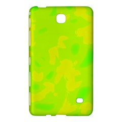 Simple yellow and green Samsung Galaxy Tab 4 (7 ) Hardshell Case