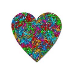 Lizards Heart Magnet
