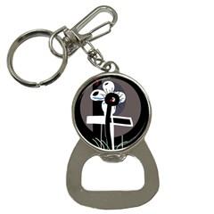 Dark Bottle Opener Key Chains